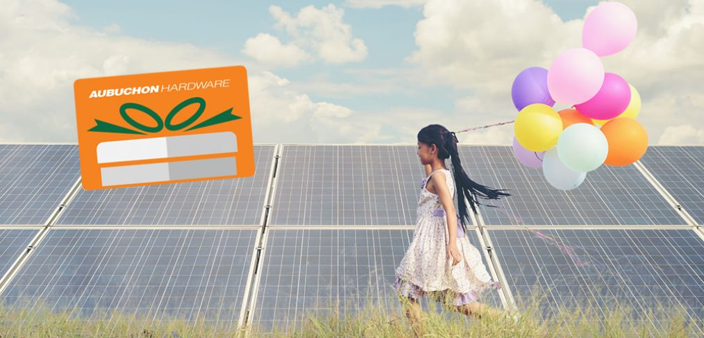 AUBUCHON HARDWARE AND RELAY POWER ANNOUNCE COMMUNITY SOLAR PARTNERSHIP